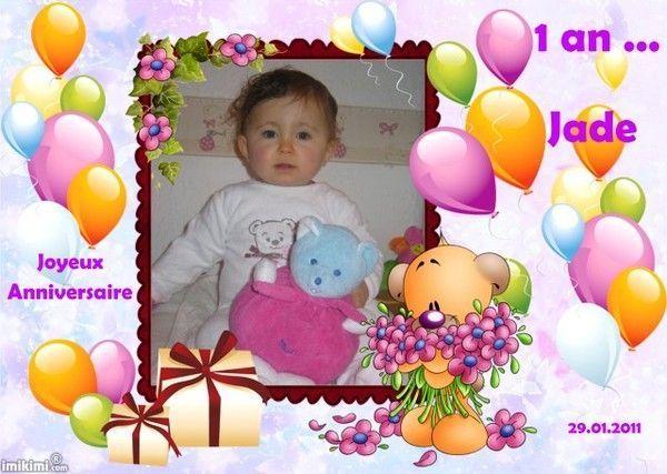 Joyeux Anniversaire Ma Fille Cherie
